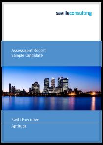 saville assessment swift executive aptitude
