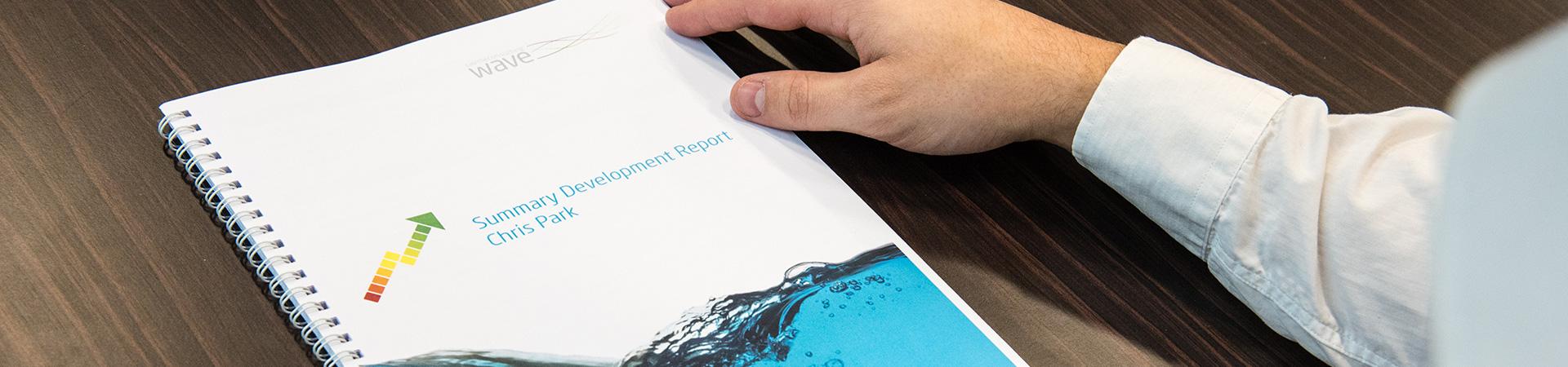 Wave Development Report Header