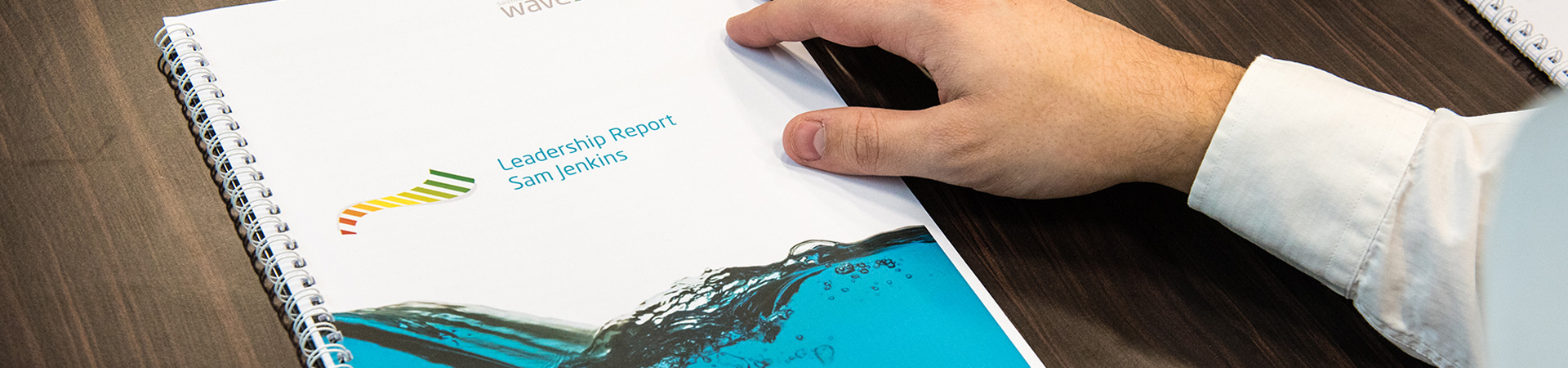 Wave Leadership Report Header