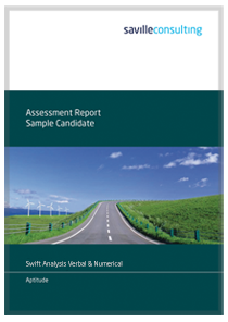 Swift Analysis Verbal and Numerical Sample Report Cover